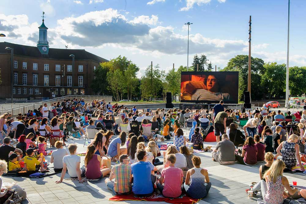 Watford Big Screen & Beach